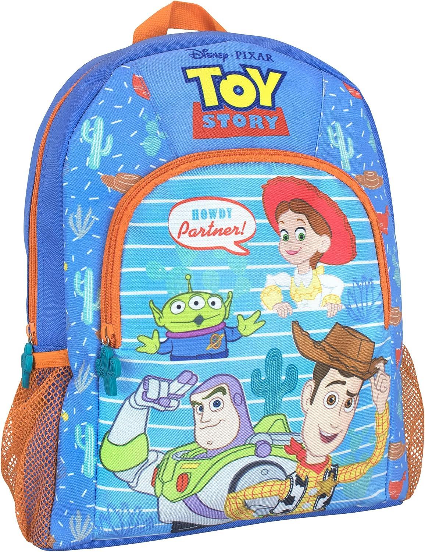 Toy Story Children/'s Boys Girls Backpack Rucksack Bag Woody Buzz Aliens Blue