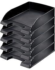 Leitz 52270095 Supporto per documenti, 70 mm (A4), nero, 5 pezzi
