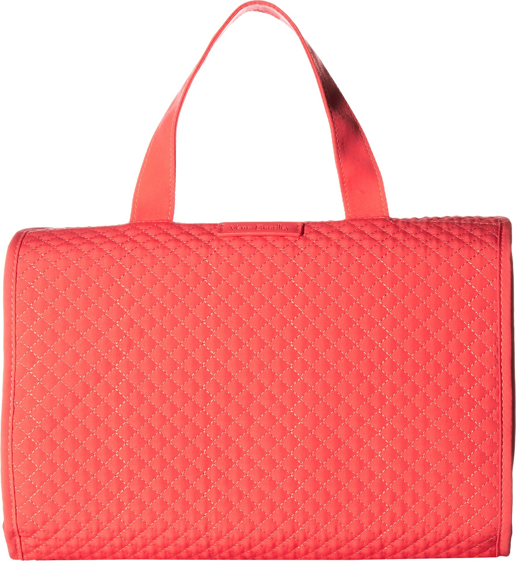 Vera Bradley Iconic Hanging Travel Organizer, Microfiber, Coral Reef, One Size