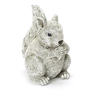 Roman,Inc 10285 Squirrel Figure Garden Statue