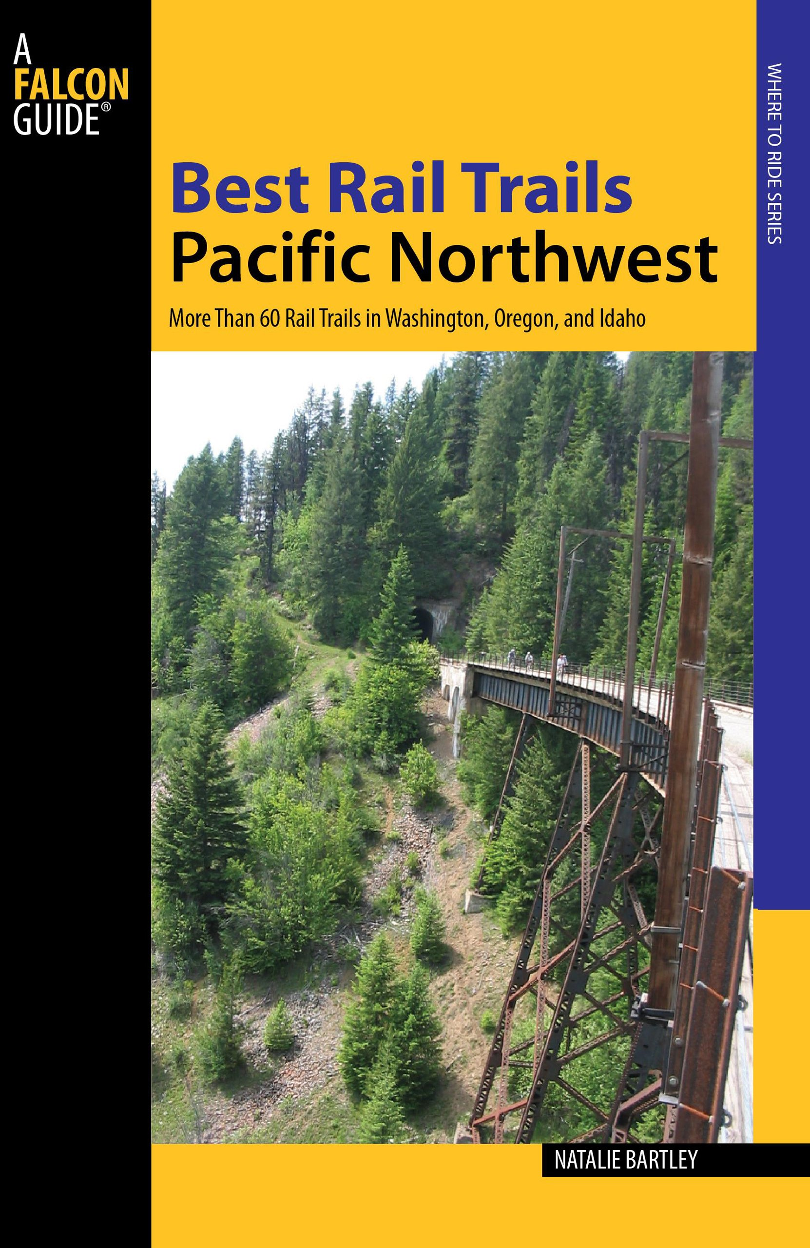 Rails To Trails Oregon Map Best Rail Trails Pacific Northwest: More Than 60 Rail Trails in