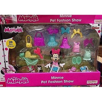 Disney Junior Minnie Pet Fashion Show Snap N Pose: Toys & Games