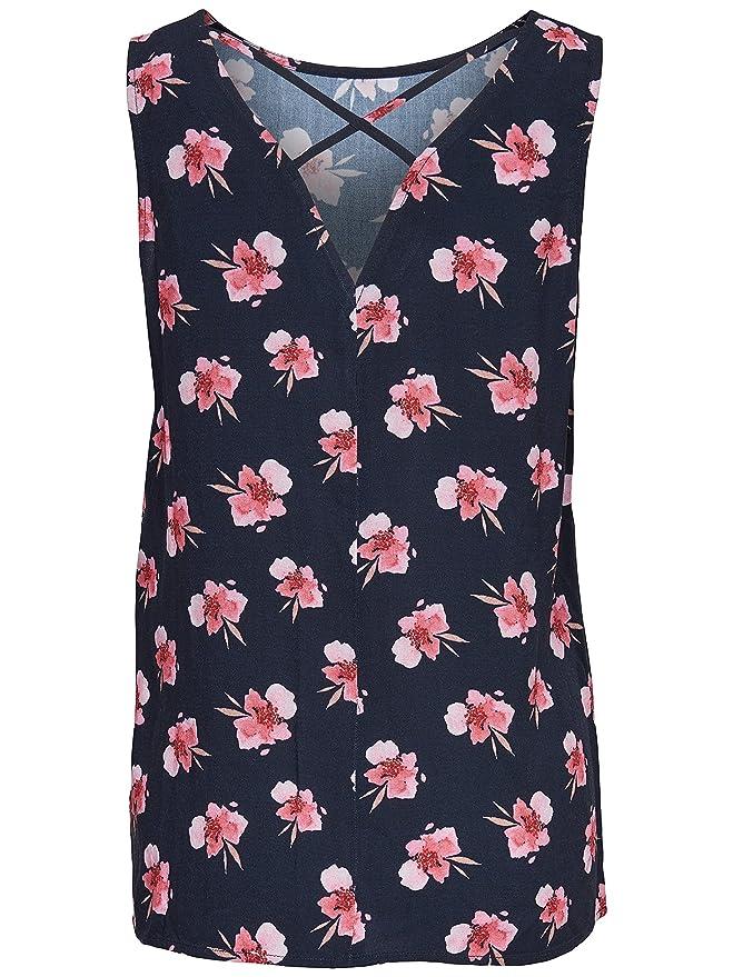 JACQUELINE de YONG Viskose Blusen Top Shirt JDYLIVA 15137119 dark navy Gr.  38: Amazon.de: Bekleidung