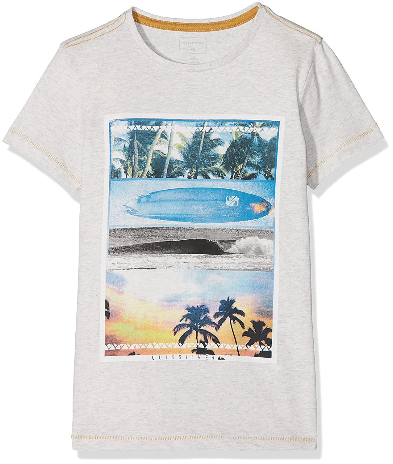Quiksilver Boys Heather Place to Be Shirts /& Tees