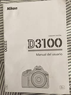 Nikon Digital D3000 Manual del usuario (Original Instruction manual in Spanish Only)