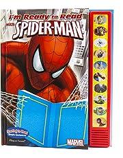 Marvel - Spider-man I'm Ready to Read Sound Book - PI Kids