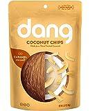 Dang Family Size Vegan Gluten Free Coconut Chips, Caramel Sea Salt, 4 Count