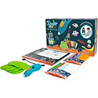 3Doodler Start Mega 3D Printing Pen Set for Kids with Free Refill Filaments + DoodleBlocks - STEM Toy for Boys & Girls, Age 6 & Up - Toy of The Year Award Winner