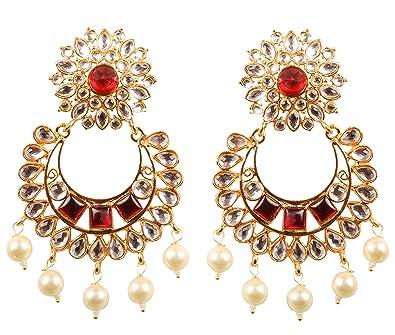 37d7e476aaea3 Buy New! Touchstone Contemporary Kundan Collection Indian Bollywood ...