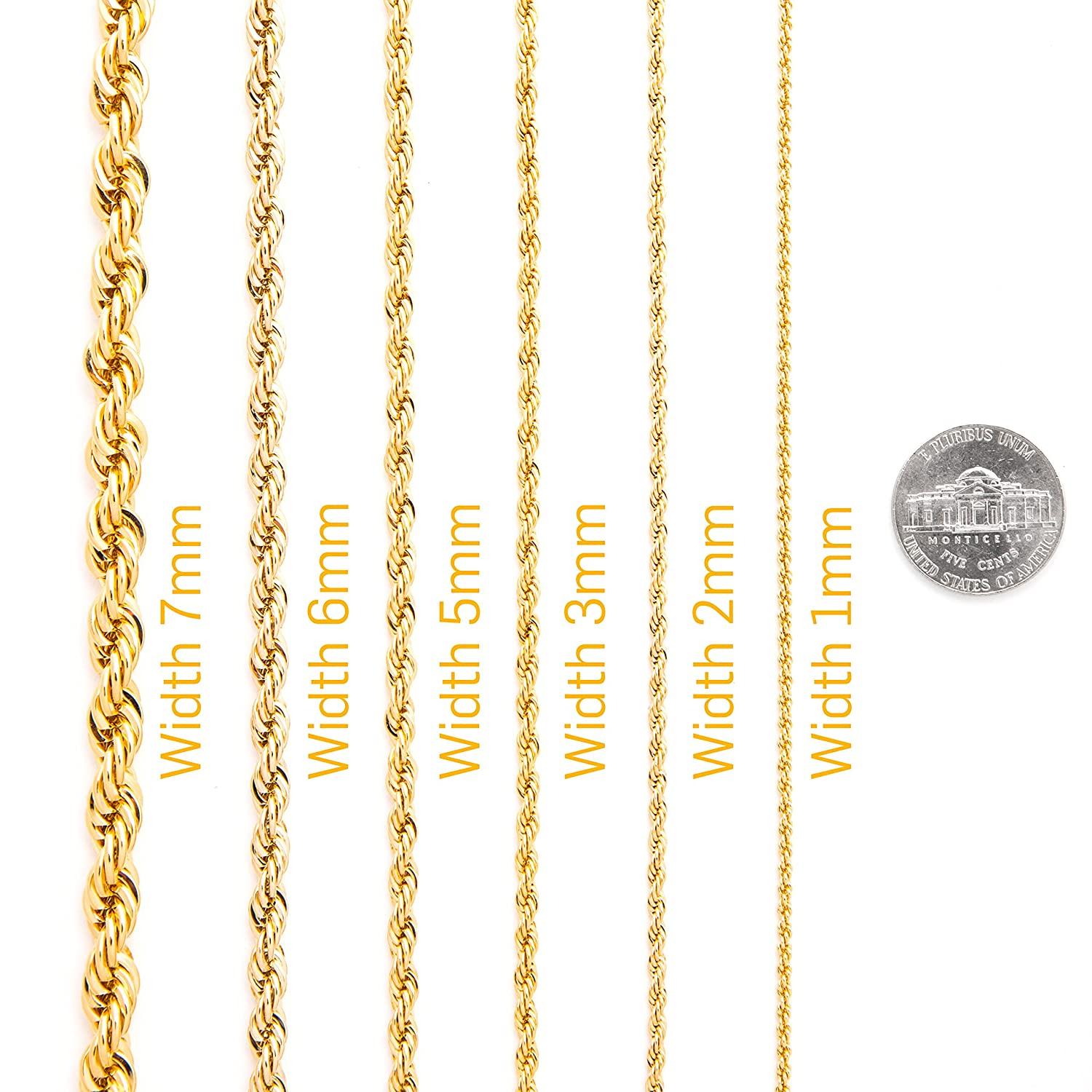 chain diamond link yellow cuban img cut itm necklace real solid gold chains