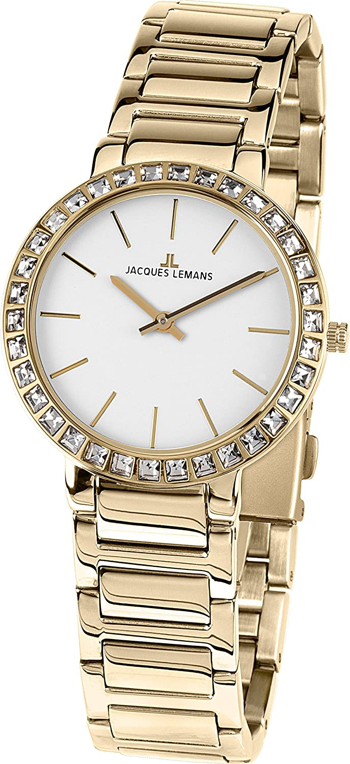 Jacques Lemansミラノ1 – 1843.1e Wristwatch for women Classic & Simple