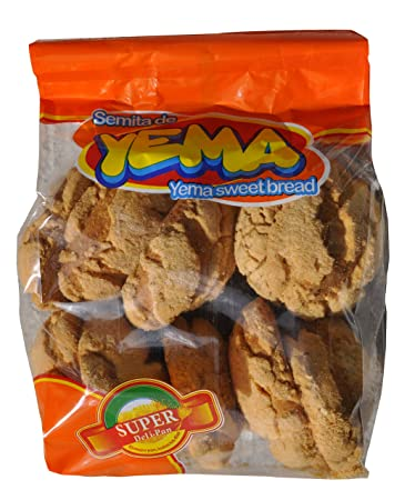 Semita de Yema / Yema Sweet Bread 13 oz - 2 Pack