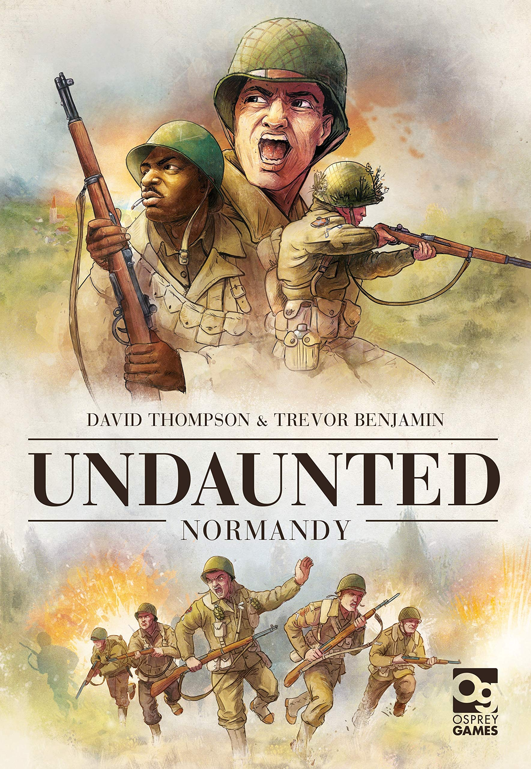 Undaunted: Normandy by Osprey Games