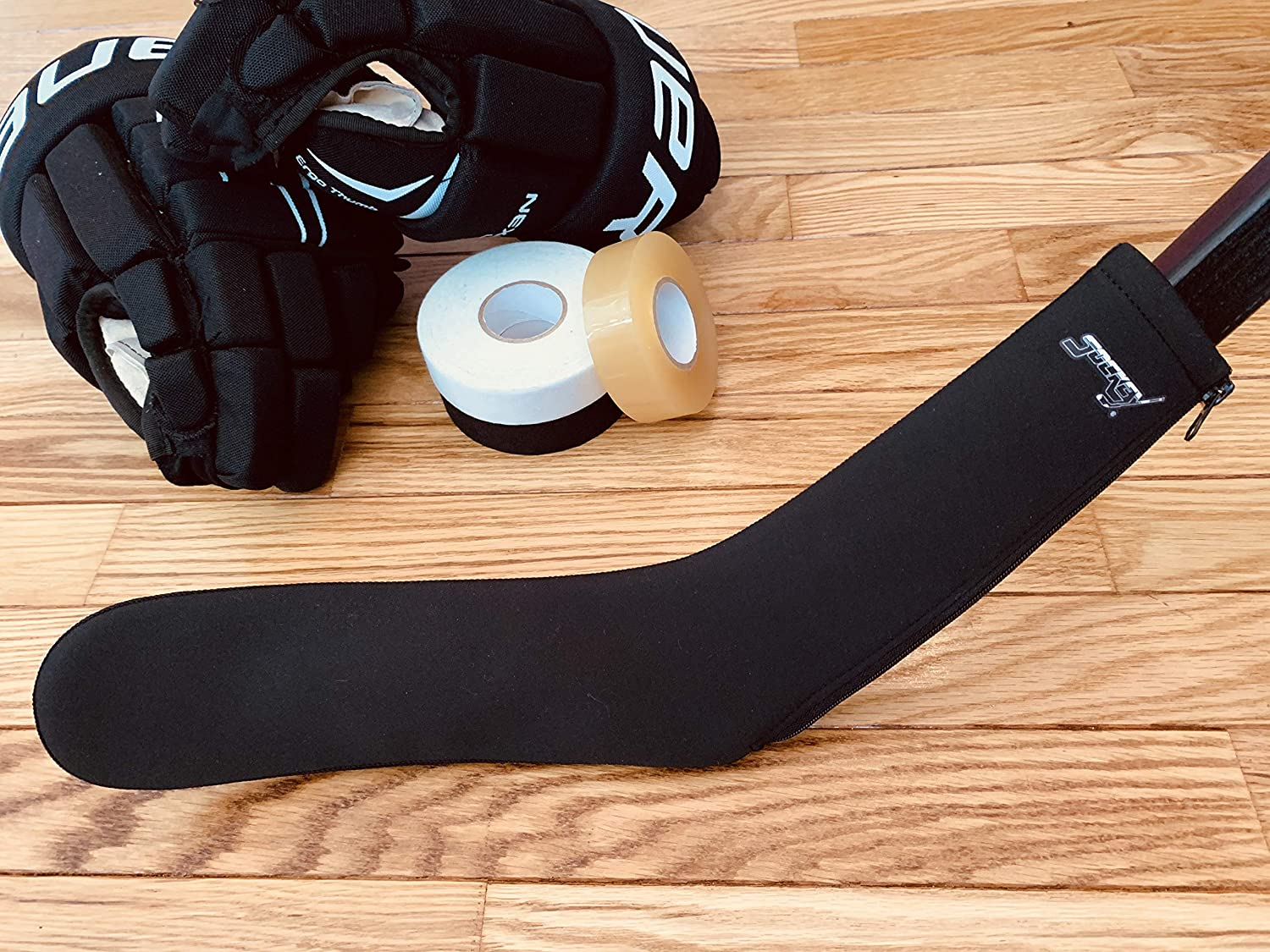 Sockey - Hockey Blade Protective Cover - Keep Your Blade Safe & Secure | Stick Protector | Hockey Player | (Black Zipper) : Sports & Outdoors