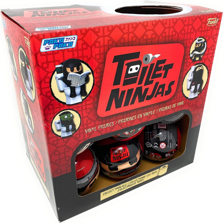 Details about  /NeW Funko PAKA PAKA TOILET NINJAs Blind Mini Capsule Unopened