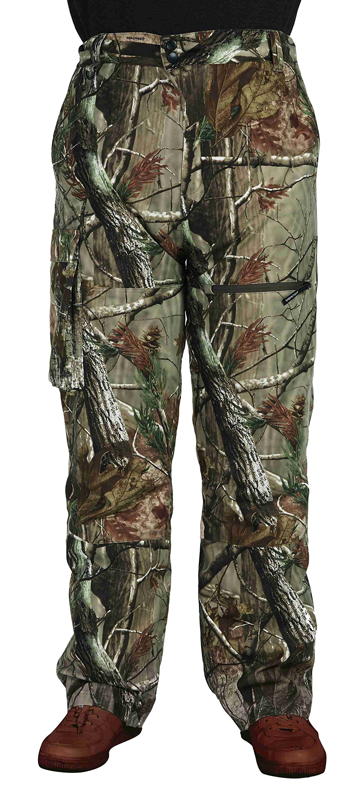Krumba Men's Camouflage Hunting Windproof Waterproof Seam Sealed Pant Camo2 Size S by Krumba
