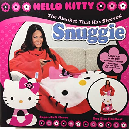 8a2daf803 Amazon.com: Hello Kitty Snuggie: Home & Kitchen