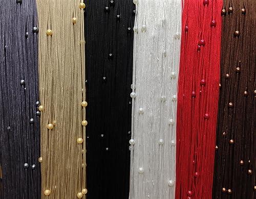 golden beaded string curtain fly screen door curtain 90cm. Black Bedroom Furniture Sets. Home Design Ideas