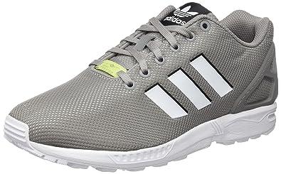 adidas zx flux bianche e grigie