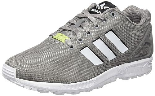 adidas ZX Flux, Sneaker a Collo Basso Unisex – Adulto, Grigio, 41 1
