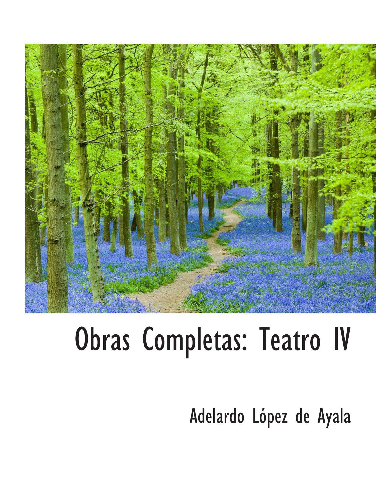 Obras Completas: Teatro IV pdf epub