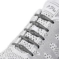 HICKIES 2.0 Performance Lacci per scarpe elastici, misura unica, non si allacciano (14 pezzi, adatti ad ogni scarpa)