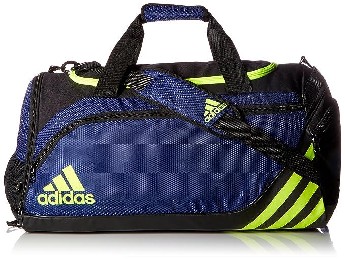 14e92ab4c8f adidas Team Speed Medium Duffel, Midnight Indigo/Solar Yellow/Bold Blue, One