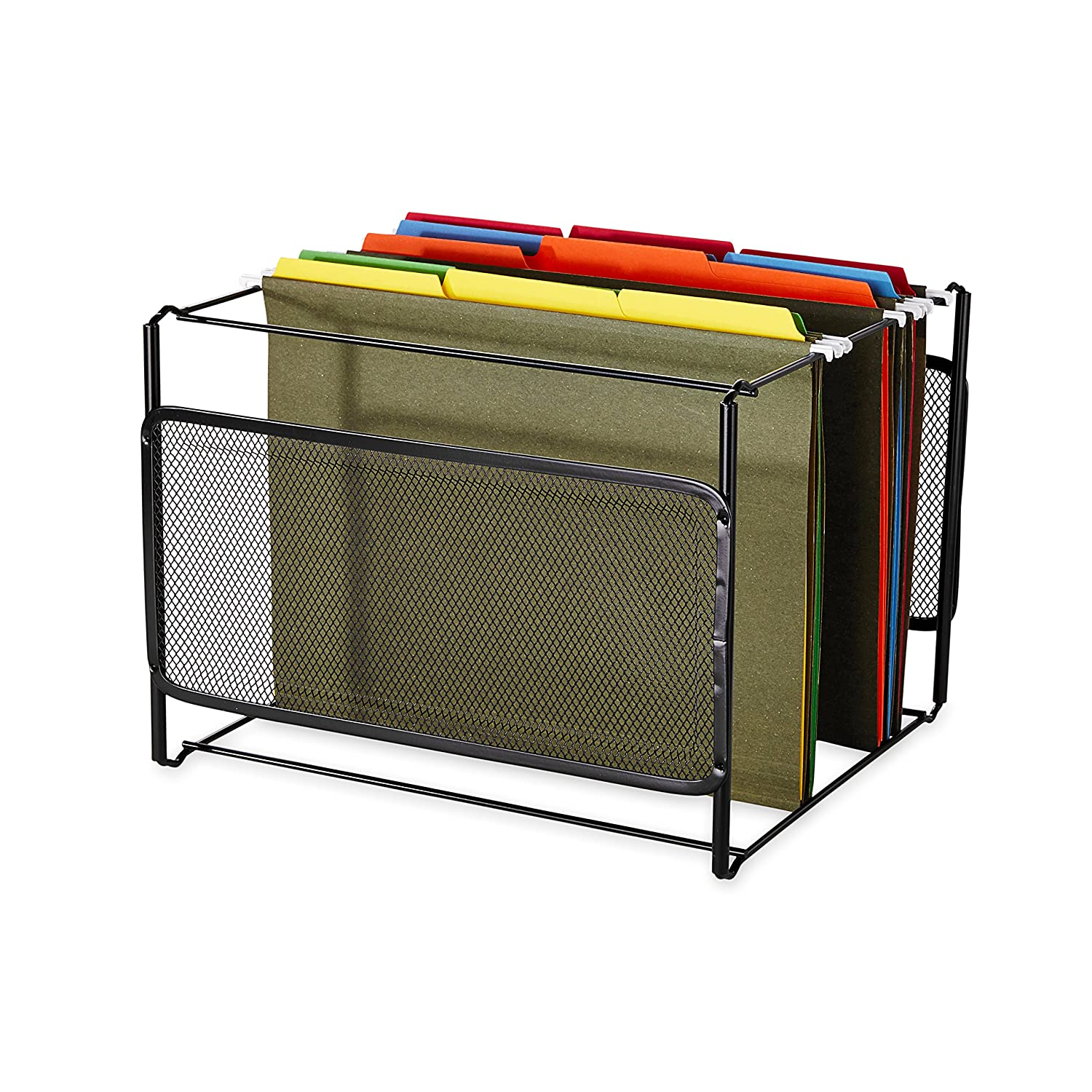 Amazon.com : Rolodex - Eldon Mesh Collection Side-Load Double Tray ...