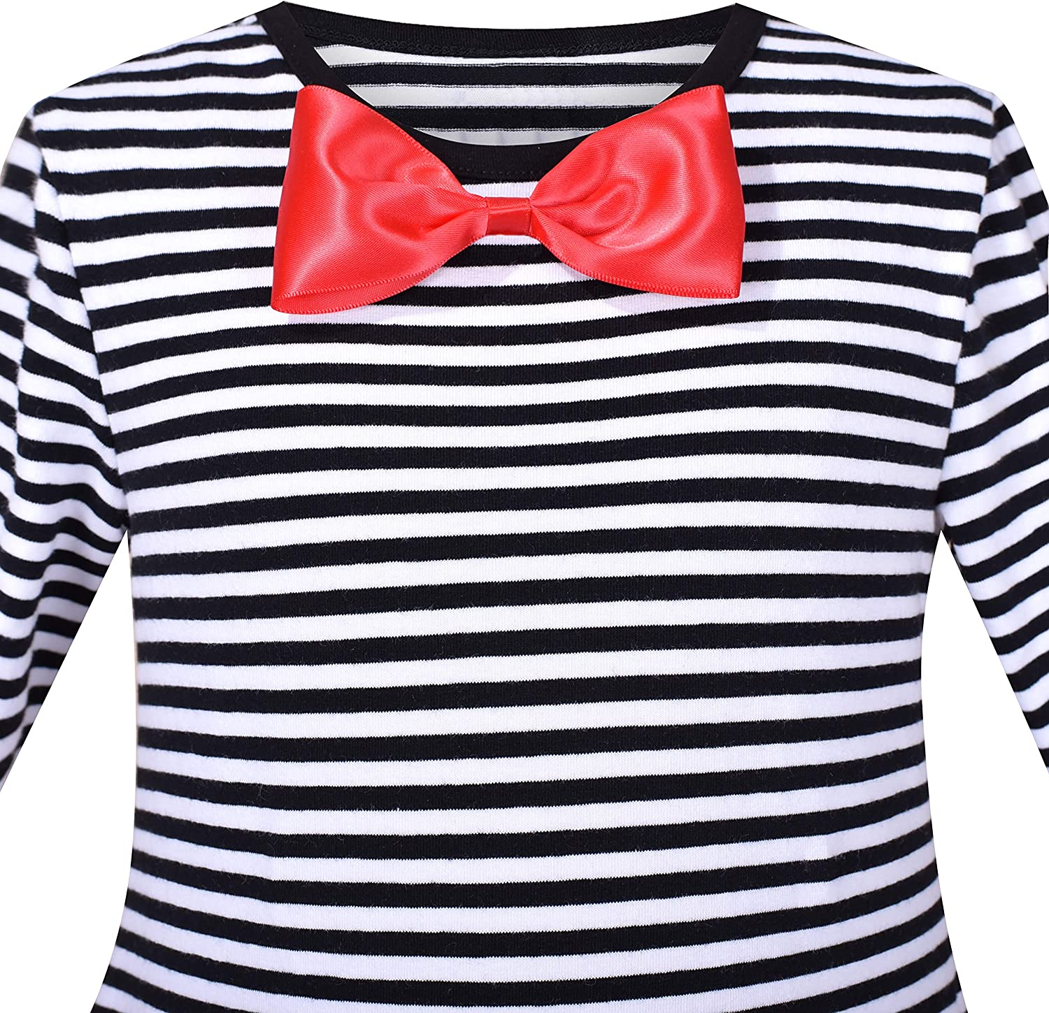 Red Black Christmas Xmas Party Snowman Dress Age 7 8 9 10 11 12 13 Year A104