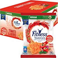 Nestle Fitness Toasties Tomato & Herbs 36g Bag (12 bags)