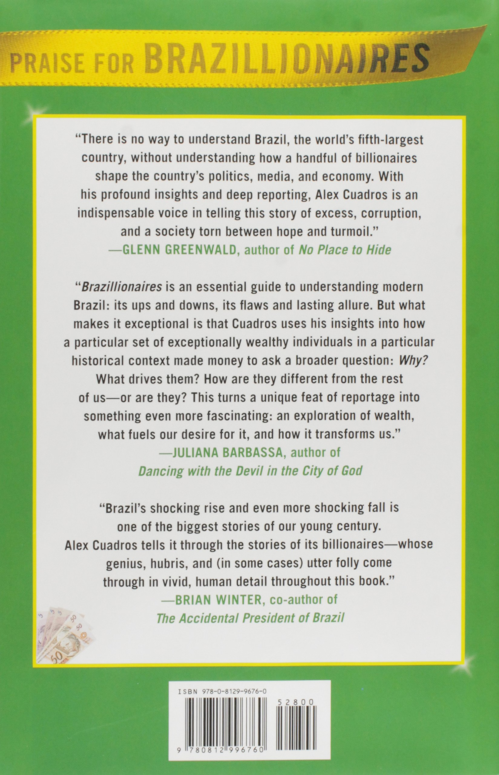 Brazillionaires: Wealth, Power, Decadence, and Hope in an