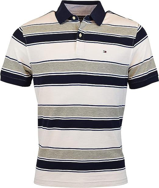 Tommy Hilfiger Men's Regular Fit Performance Pique Cotton Polo Shirt