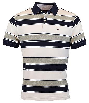8188437b Tommy Hilfiger Men's Regular Fit Performance Pique Cotton Polo Shirt at Amazon  Men's Clothing store: