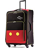 American Tourister Disney Mickey Mouse Pants Softside Spinner 28