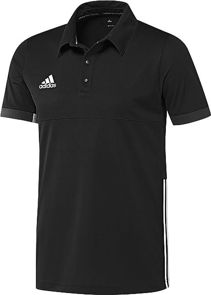 adidas Polo Camisa T16 Team, Hombre, Polo Hemd T16 Team, Negro ...