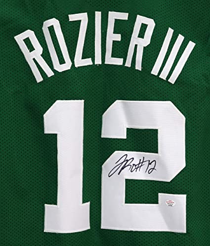 super popular 5974c 7af9d Terry Rozier Boston Celtics Signed Autographed Green #12 ...