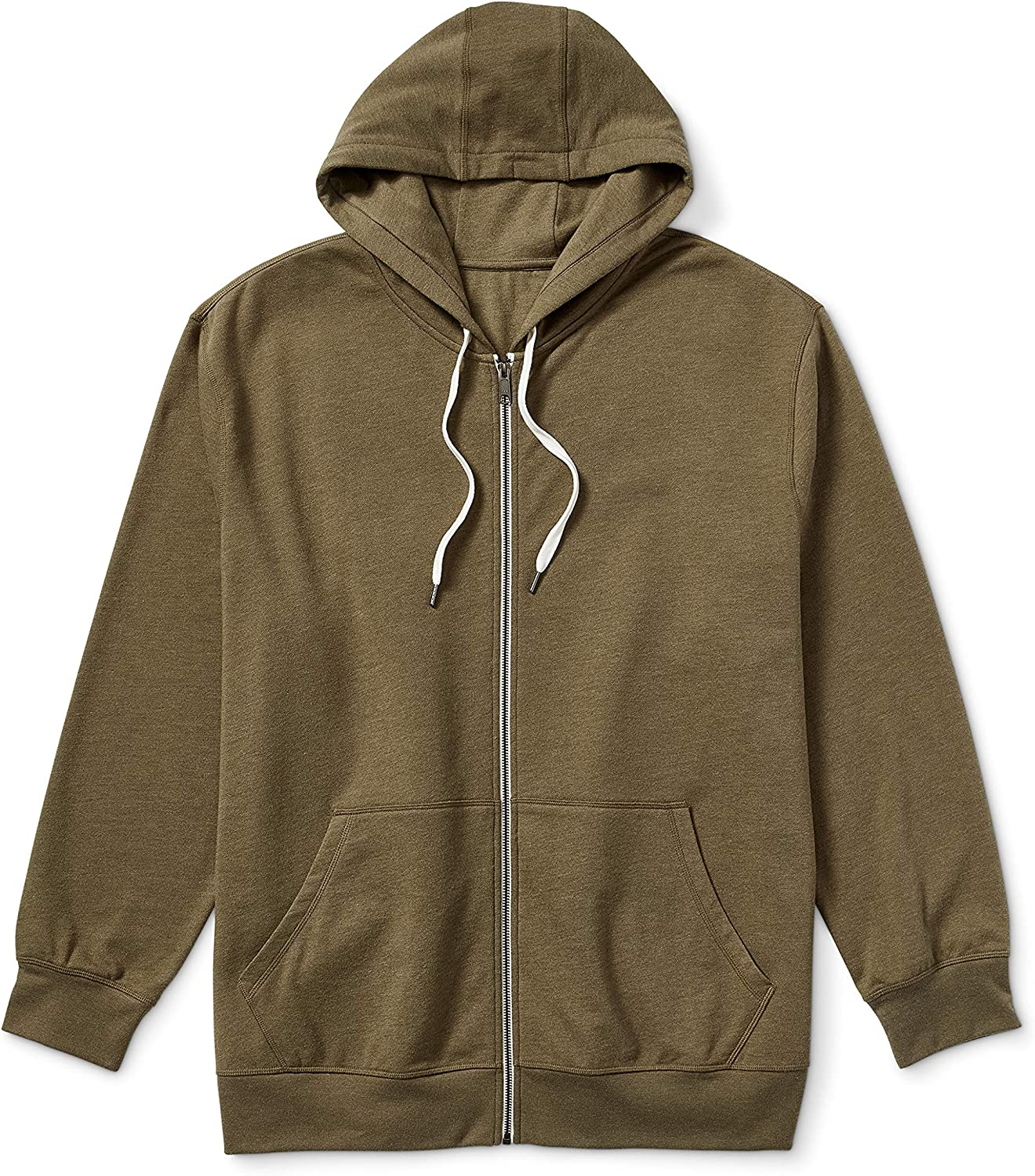 Arlington Mall Amazon Essentials Men's Courier shipping free Big Tall French Full-Zip Sweatsh Terry