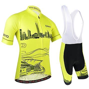 BXIO Maillot Ciclismo Hombre e5baaa9e5ecb9