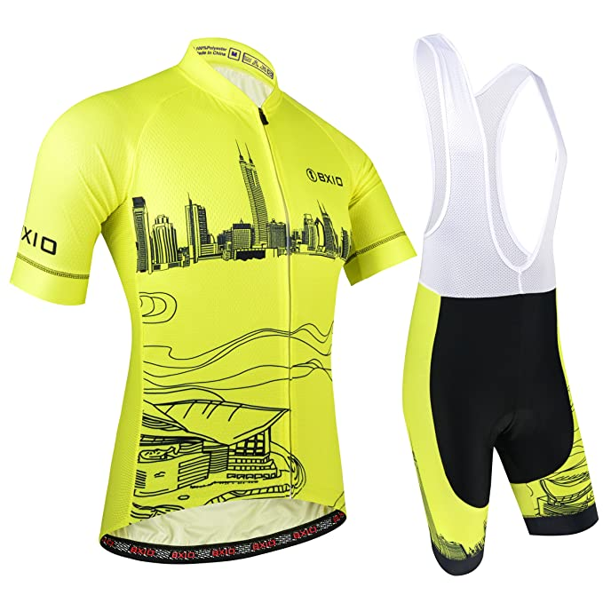 Amazon.com: bxio ropa ciclismo para hombres, material ...