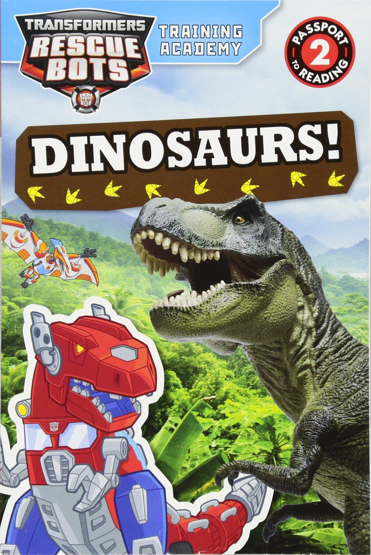 Transformers Rescue Bots Training Dinosaurs