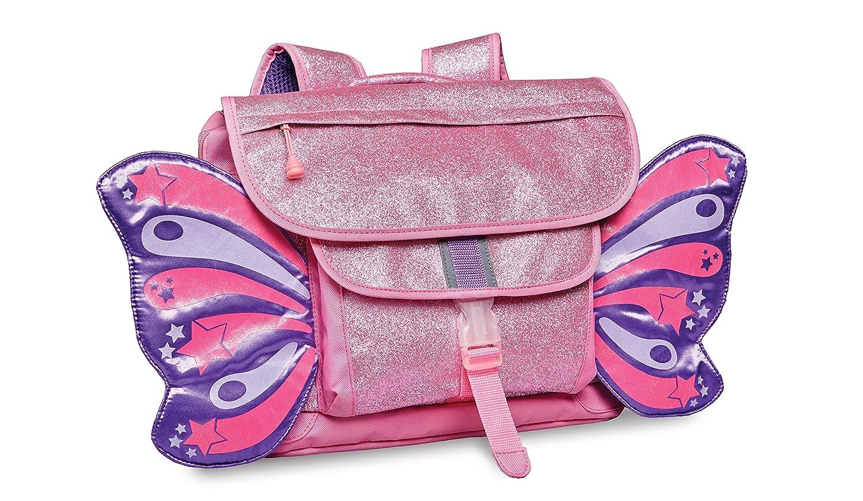 Bixbee キラキラバタフライヤーリュックサック 小さいアクセサリー 女の子 乳幼児用 Mサイズ ピンク Mサイズ ピンク B073NWMPWP