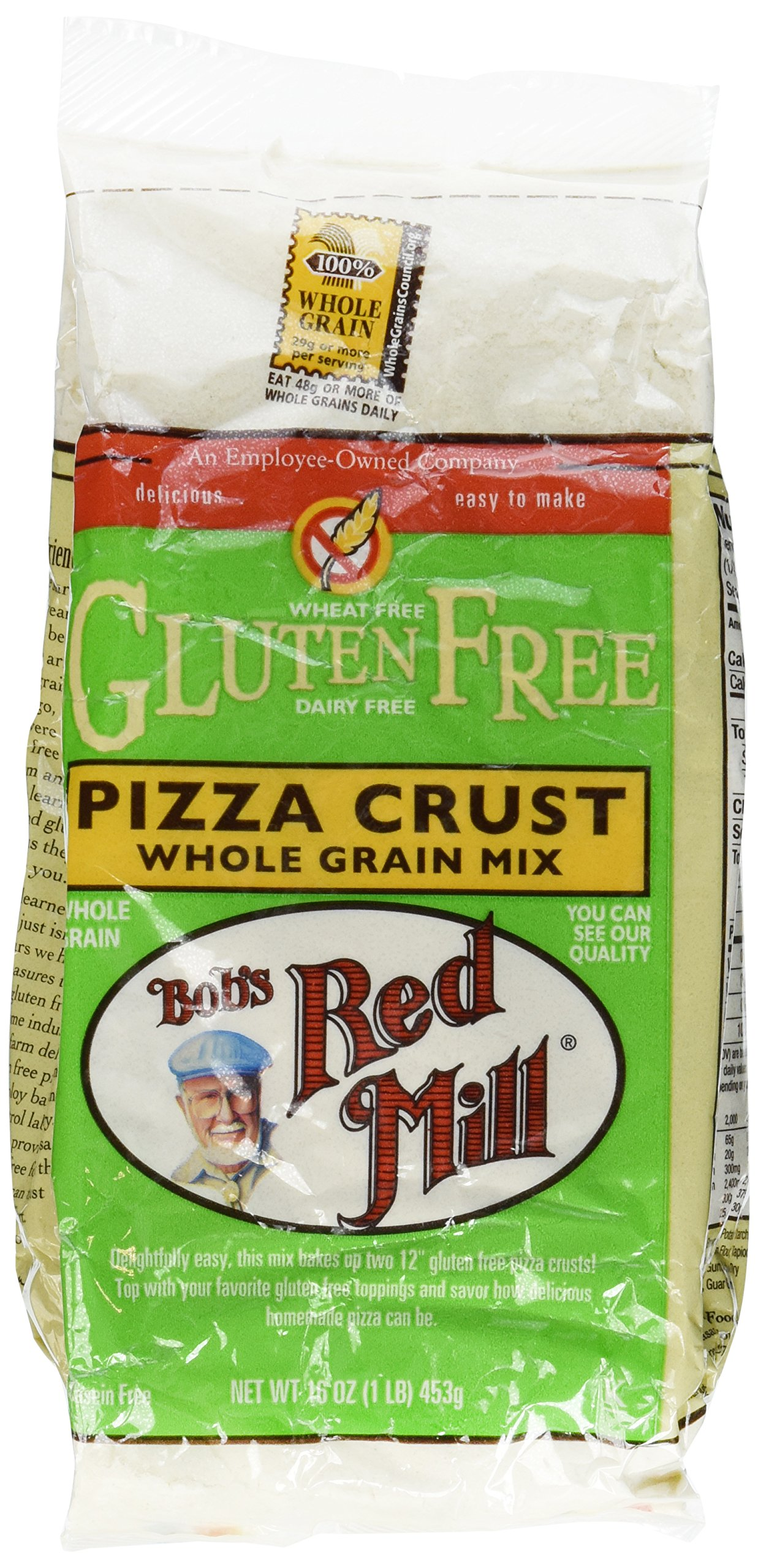 Bobs Red Mill Pizza Crust Mix Gluten Free (2x16 Oz) by Bob's Red Mill