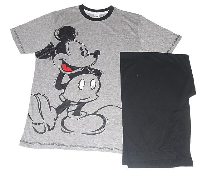 Disney para Hombre Pijama DE Mickey Mouse