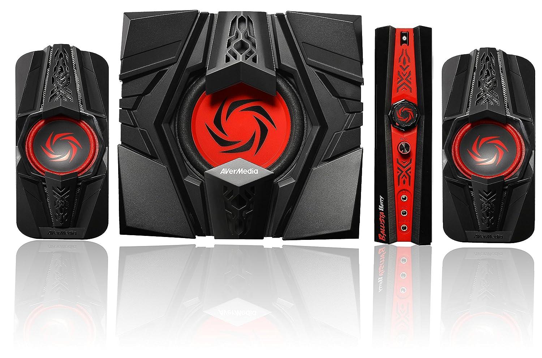 amazon com avermedia ballista unity gaming speakers 2 1 audio rh amazon com Wizard X220 X220 Upgrade