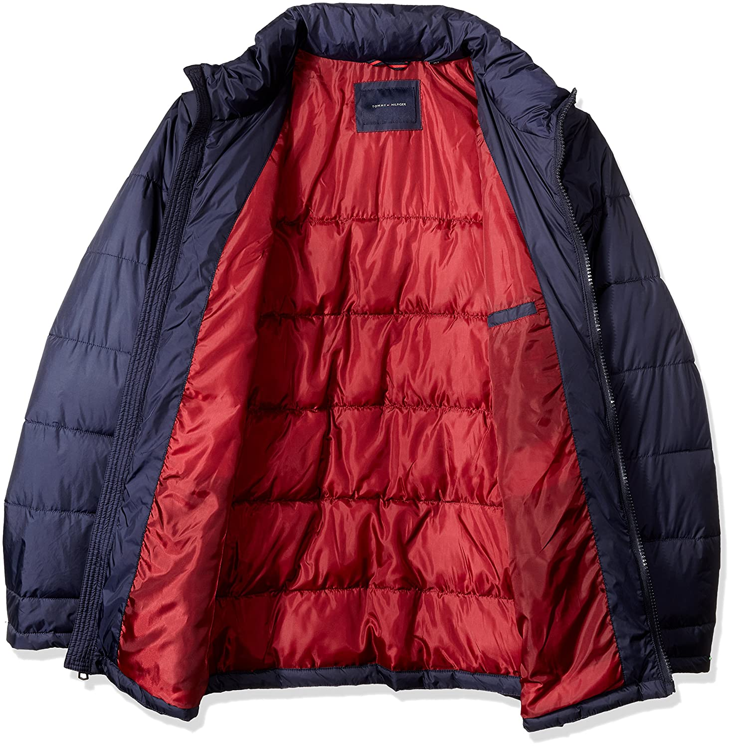 Tommy Hilfiger Men's Tall Size Midweight Quilted Puffer Jacket at Amazon  Men's Clothing store: