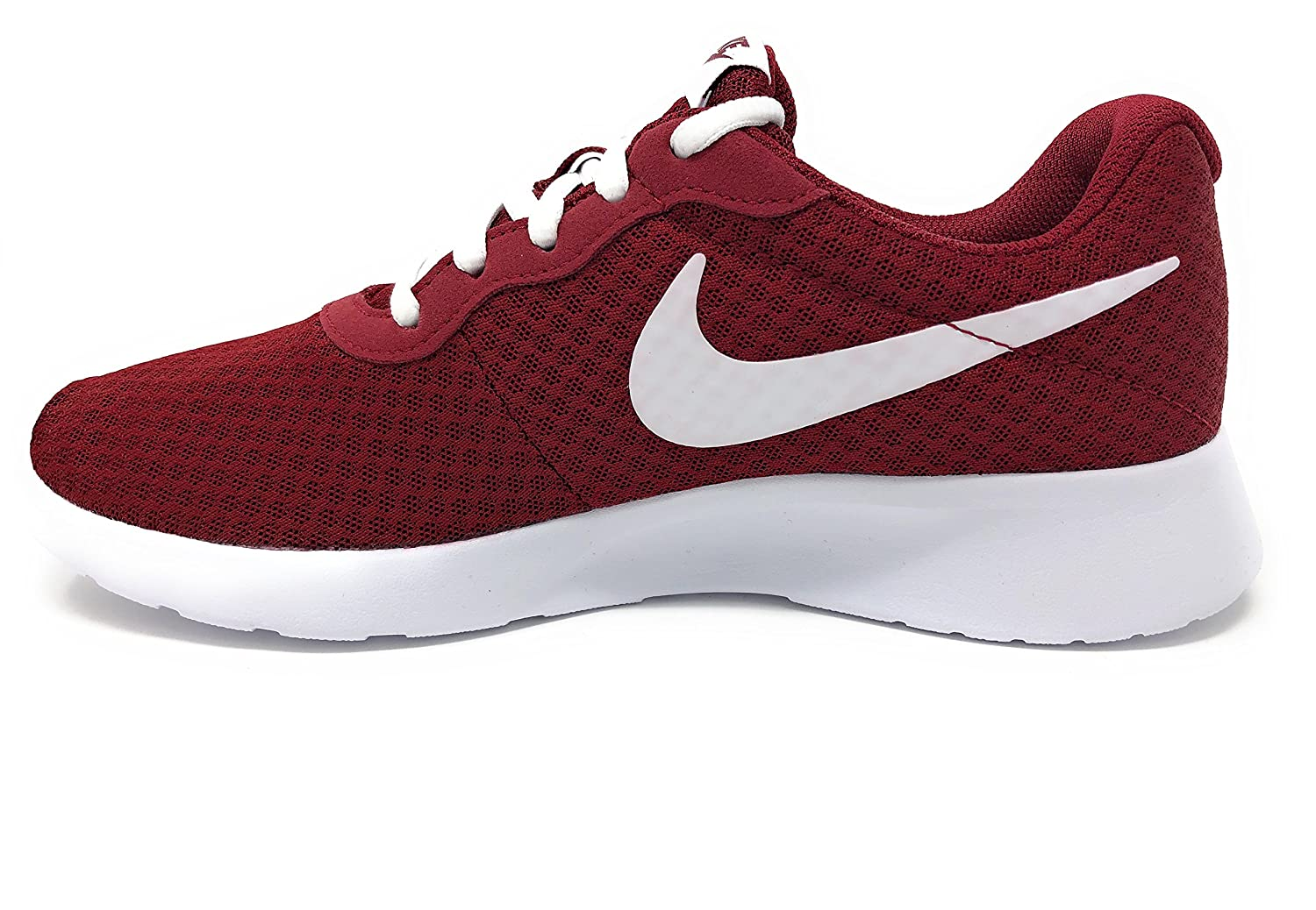 Amazon.com | NIKE Womens Tanjun Team Red/White Size 6 B(M) US | Fashion Sneakers