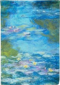 Rainbow Rules Garden Flag - Monet Water Lillies