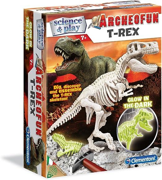 Clementoni Archeofun T-Rex Dinosaur Skeleton Kit