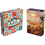 Century Spice Road Board Games (Deluxe Pack: Century Spice Road & Azul Board Games)