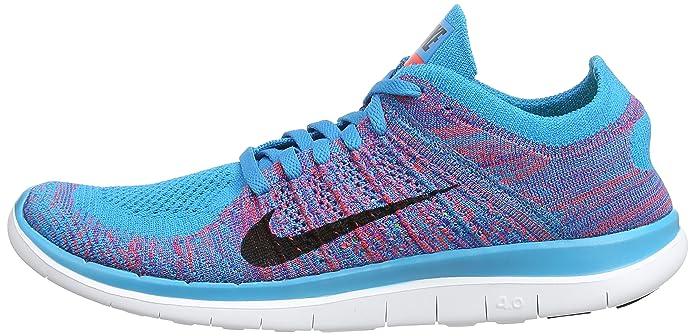 finest selection 8da07 b9a23 Nike Men s Free 4.0 Flyknit Bl Lgn Brght Crmsn Gm Ryl Wht Running Shoe 12  Men US  Amazon.ca  Shoes   Handbags
